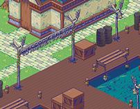 EcoVerse - Pixel Art