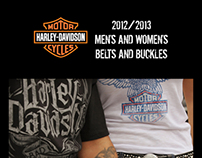 Harley Davidson license catalog 2012