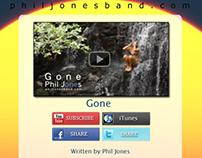 "Phil Jones Band ""Gone"" Emailer"