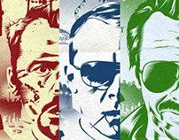 The Cornetto Trilogy Alternative Movie Posters