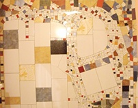 Ceramic mosaic - Bathroom