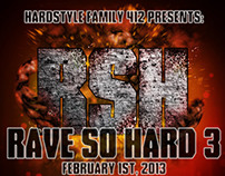 Rave So Hard 3 Flyer