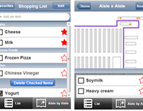 Aisle x Aisle Grocery Shopping App Prototype