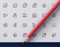 500 Hand drawn icons