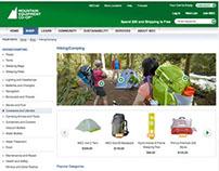 MEC - Hiking & Camping Landing Page Revamp