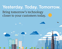 Yesterday. Today. Tomorrow. Microsoft Azure.
