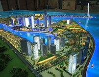 Urban Planning Physical Model Project in Malaysia