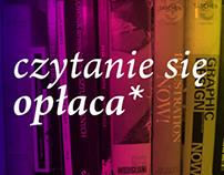 CZYTANIE SIĘ OPŁACA, projekt kampanii na rzecz czytania