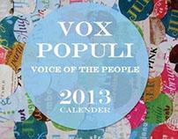 Vox Populi Calender 2013