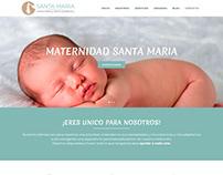 Website - Maternidad Santa Maria