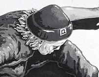 Mural for Druzba store