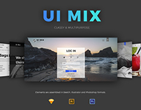 UI MIX Classy & multipurpose UI KIT