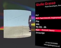 GiulioGrasso.NL - Flash Home Page