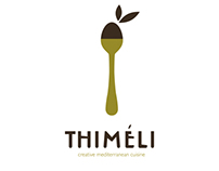 Thimeli Restaurant Wien, corporate identity