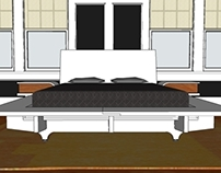 SLAB: a knock-down platform bed