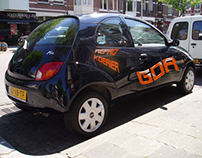 Car print.