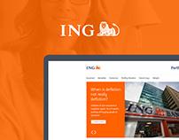 ING Portföy Website