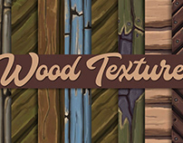 Hand-painted Wood textures – Tileable
