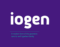 iogen / typeface