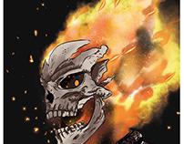 Ghost Rider digital Drawing