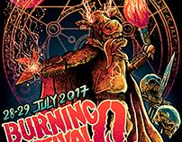 BURNING Q Festival 2017 - Artwork