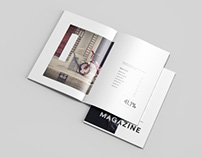 Letter Magazine Mockup - PSD Download