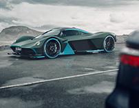 Aston Martin Valkyrie, CGI.