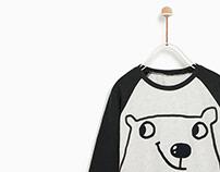 Zara Baby Boy - Bear TShirt