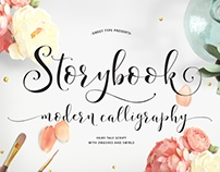 Storybook Calligraphy Script