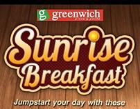 Breakfast Layout for GW