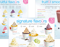 Yogen Fruz Menu Boards