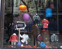 Autumn Baby Wear Window 2012