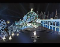 ROBERTO CARLOS/ TV GLOBO- 2012, Presentation Project