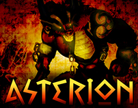 Asterion - Game Board