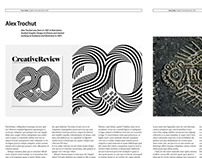 Graphics International Magazine Re-Design