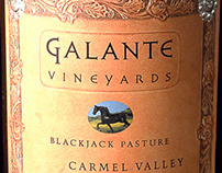 Britton Design for Galante Vineyards, Carmel Valley