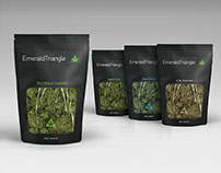 Emerald Triangle Cannabis Bag Packaging