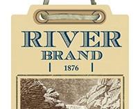 """""""River Brand"""" Phillips-Van Heusen Apparel Branding"""