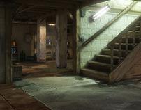 Basement Scene