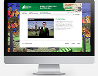 MEC Elections Site Redesign 2012