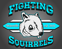 Fighting Squirrels Team Logo