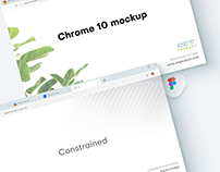 Figma mockup Chrome 10 new design
