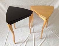 WALKABOUT: side table