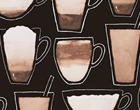 DESIGN & ILLUSTRATION: Coffee Chart