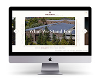 Delicato Family Wines - Website Design