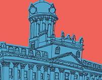 Landmark building illustrations (collection)