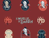 El Muelle de Darwin   Branding