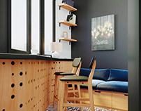 Дизайн-проект квартиры 47 кв.м