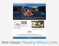 Reading Without Limits: Web Design