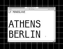 LT Monoslave - Font
